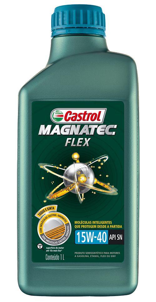 ÓLEO CASTROL MAGNATEC FLEX 15W40 1L