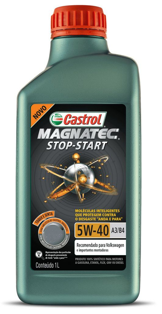 ÓLEO CASTROL MAGNATEC STOP-START A3/B4 5W40 1L