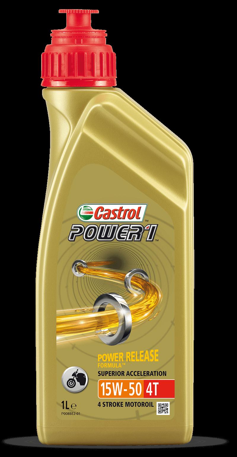 ÓLEO CASTROL POWER 1 15W50 1L