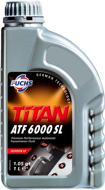 ÓLEO DE TRANSMISSÃO FUCHS TITAN ATF 6000 SL 1L