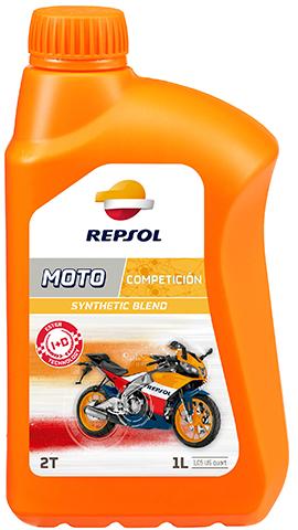 ÓLEO REPSOL MOTO COMPETICIÓN 2T 1L