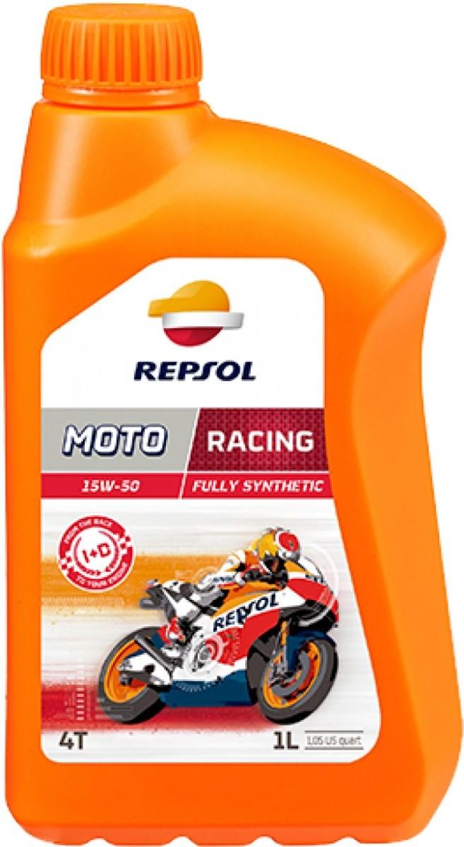 ÓLEO REPSOL MOTO RACING 4T 15W50 1L
