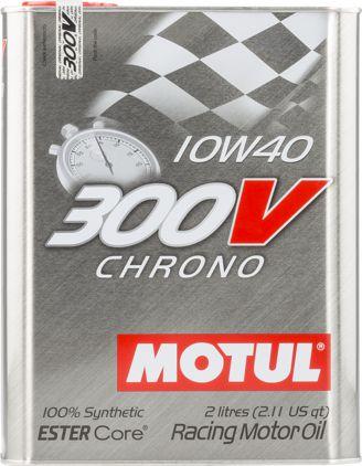 ÓLEO MOTUL 300V CHRONO 10W40 100% SINTÉTICO 2L