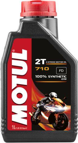 ÓLEO MOTUL 710 2T 100% SINTÉTICO 1L