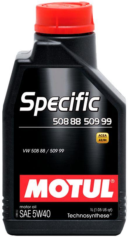 ÓLEO MOTUL SPECIFIC 508 88 509 99 5W40 SEMISSINTÉTICO 1L