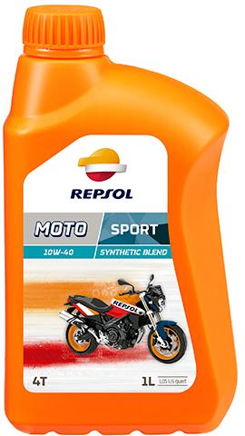 ÓLEO REPSOL MOTO SPORT 4T 10W40 1L