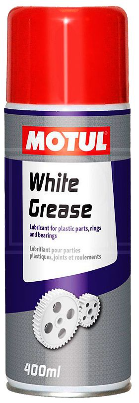 SPRAY LUBRIFICANTE MOTUL WHITE GREASE 400ML