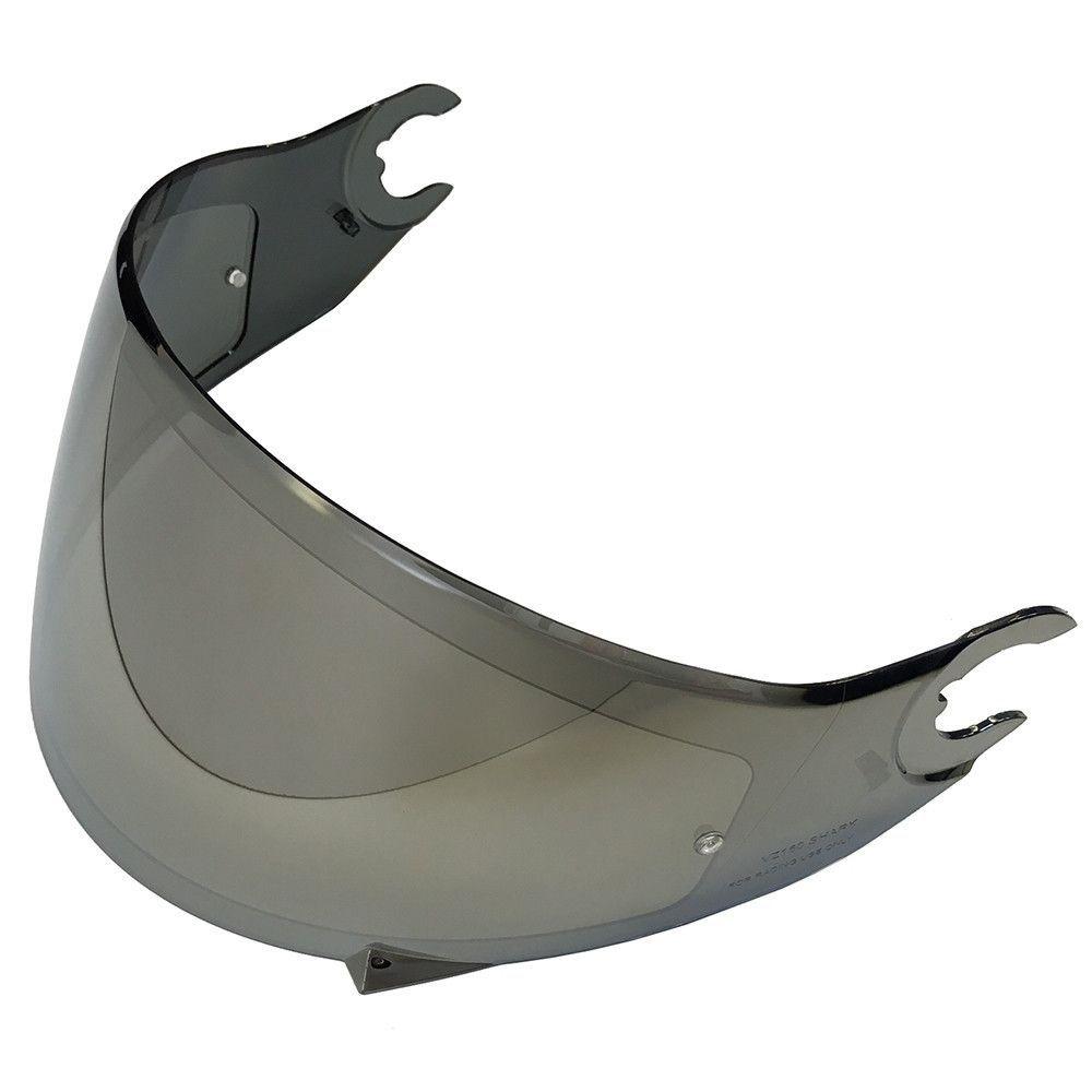 VISEIRA SHARK SKWAL/SPARTAN - PRATA ESPELHADA