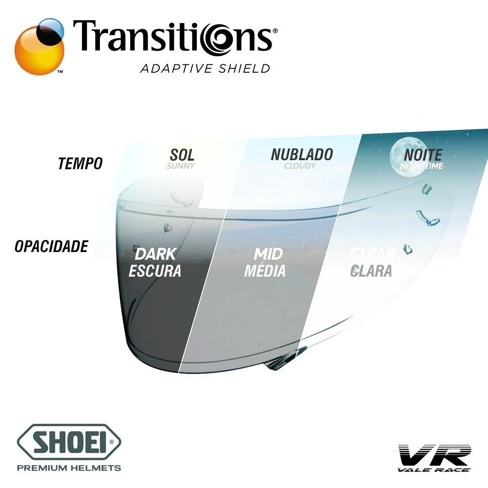 VISEIRA SHOEI CWR-1 - TRANSITIONS
