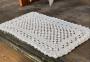 Tapete Crochê Retangular 80x50cm Tapetinho
