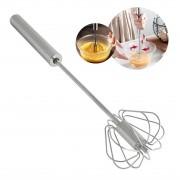Batedor de Ovos Mixer Manual Giratório em Inox 360 graus