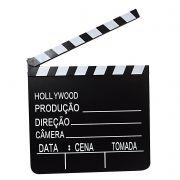 Claquete de Decoração Cinema Grande em MDF 30X28.5CM