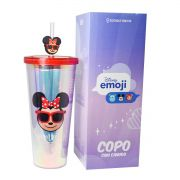 Copo com Canudo Minnie 650ML