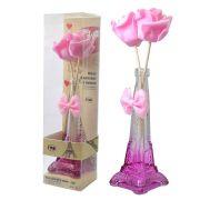 Difusor Aromatizador de Ambientes Tema Paris Rosa