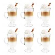Jogo com 6 Xícaras Cappuccino Nespresso 110ml