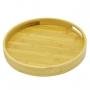 Bandeja borda de Bambu Redonda 30cm