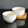 Bowl Tigela de Porcelana Branco 400ml Kit com 2 Peças md6