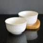 Bowl Tigela de Porcelana Branco 450ml Kit com 2 Peças md4