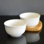 Bowl Tigela de Porcelana Branco 450ml Kit com 2 Peças md5
