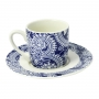 Conjunto 6 Xícaras De Café Com Pires Porcelana 90 ml