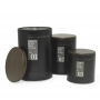 Conjunto de Latas Potes de Metal para mantimentos 3 Peças