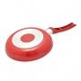 Jogo 2 Frigideiras Antiaderentes Vermelha Quadrada Espátula