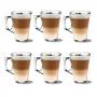 Jogo com 6 Xícaras 140ml Compatível Nespresso Experience