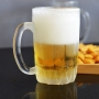 Kit 12 Canecas de Chopp Cerveja de Vidro Grosso 330ml