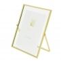 Porta Retrato 15x20 Metal Cavalete Rosegold ou Dourado