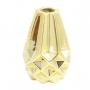 Vasinho Diamante Rosegold ou Dourado 12cm