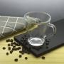 Xícara de Chá Café Cappuccino 280ml Vidro 6 Peças