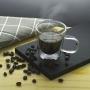 Xicara parede dupla de vidro café 100ml 2 Peças
