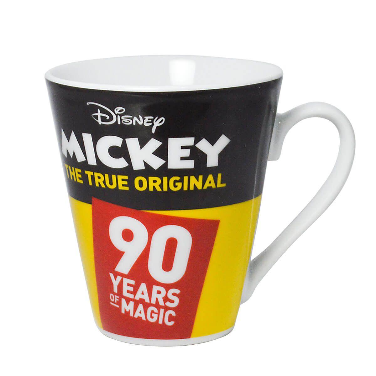 Caneca Mickey Disney comemorativa 90 anos 330ml