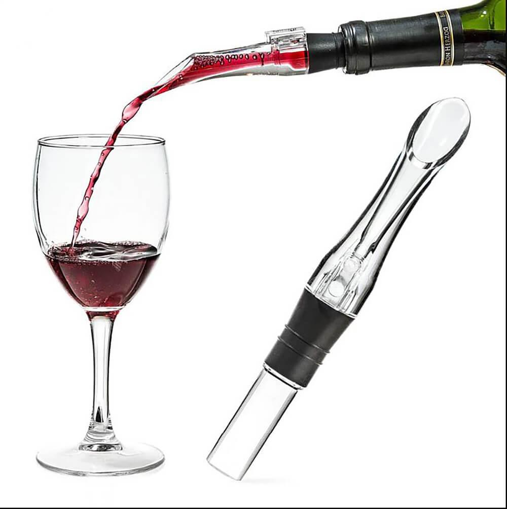 Decantador Instantâneo De Vinho Bico Dosador Aerador
