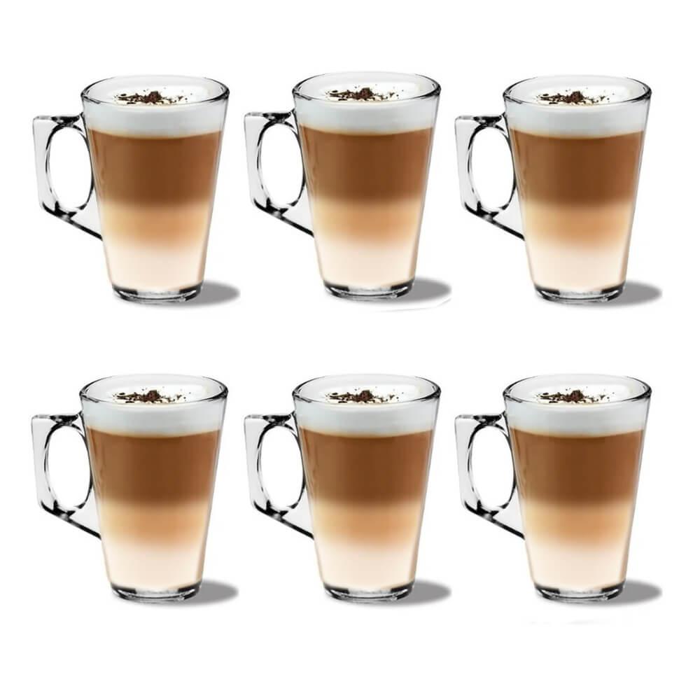 Jogo com 6 Xícaras 140ml Tipo Nespresso Azaleia Experience