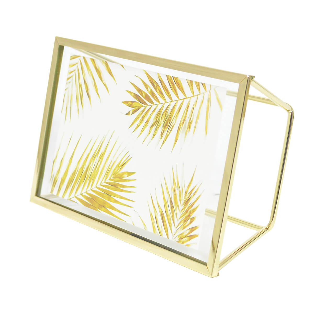 Porta Retrato Elegante Metal Rosegold ou Dourado 10x15