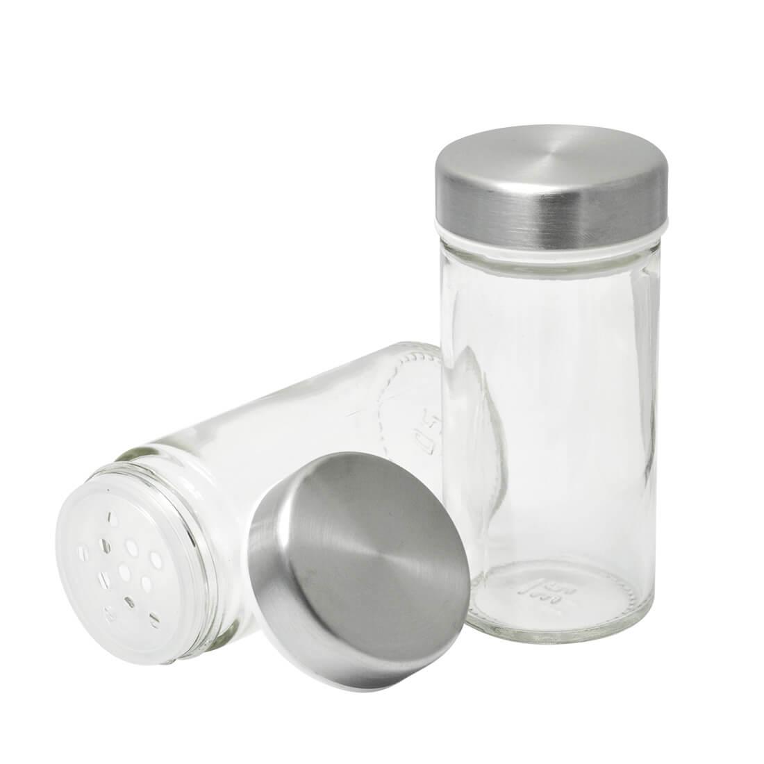 Porta Tempero Condimento Aço Inox Giratório 12 Potes