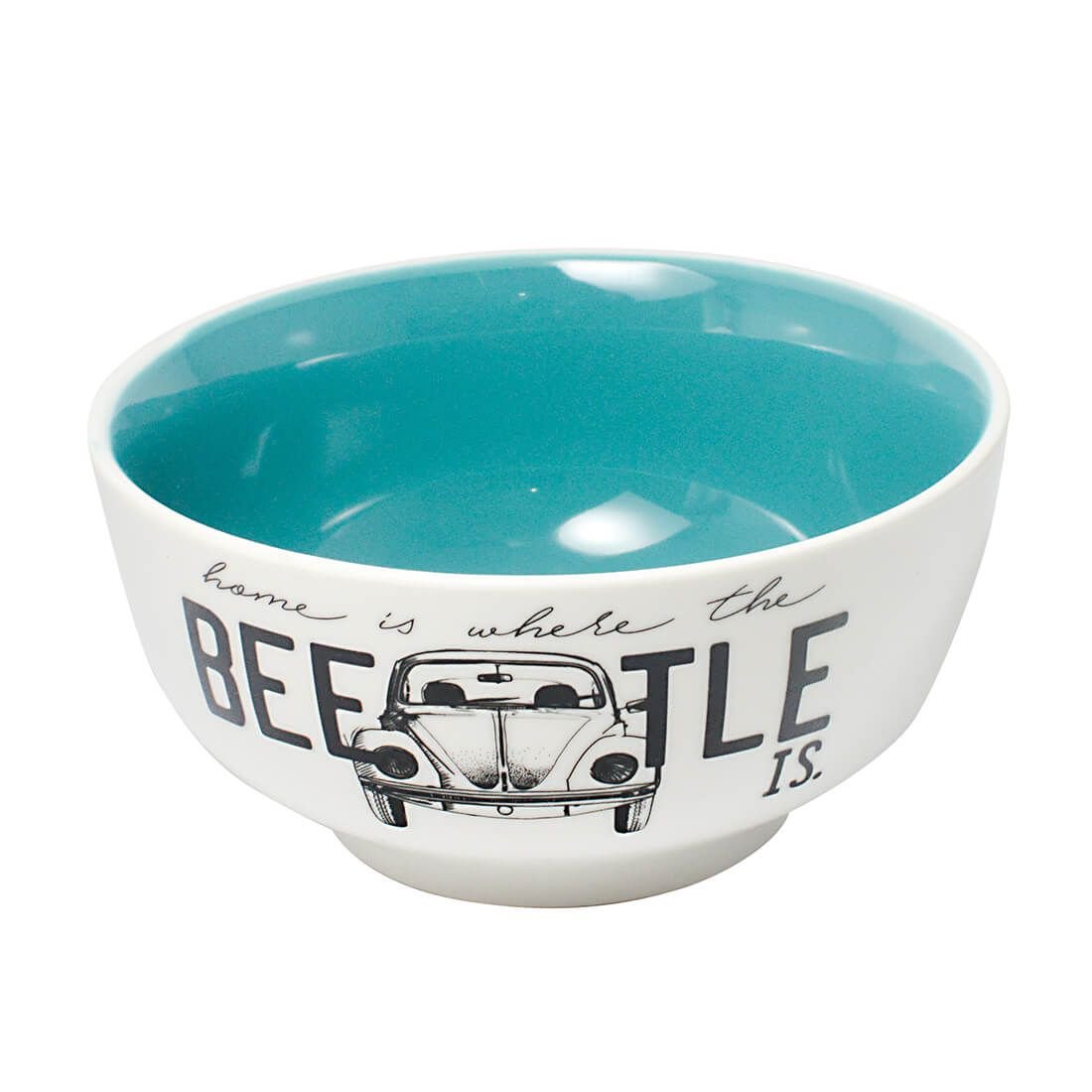 Tigela Bowl de Porcelana 400ml Fusca Beetle volkswagen