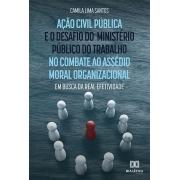 Ação civil pública e o desafio do Ministério Público do Trabalho no combate ao assédio moral organizacional: em busca da real efetividade