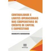 Contabilidade e limites operacionais nas cooperativas de crédito de capital e  empréstimo