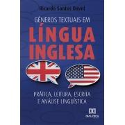 Gêneros textuais em língua inglesa: prática, leitura, escrita e análise linguística