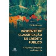 Incidente de classificação de Crédito Público: a Fazenda Pública na falência