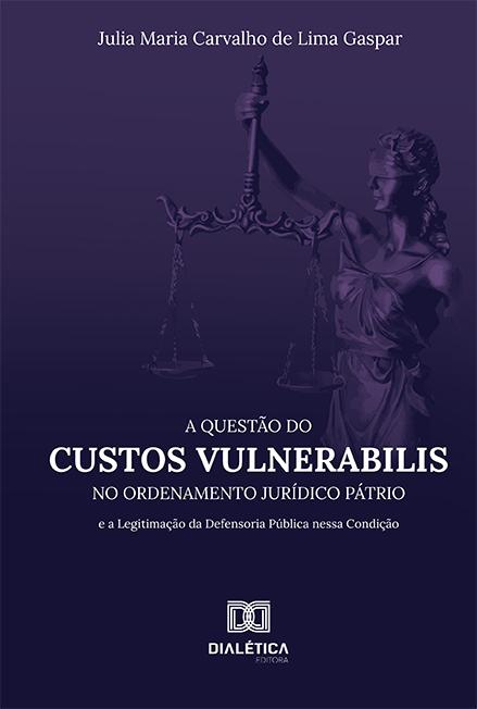 A Questão do Custos Vulnerabilis no Ordenamento Jurídico Pátrio: e a Legitimação da Defensoria Pública nessa Condição