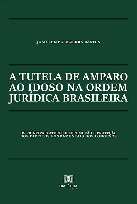 A tutela de amparo ao idoso na ordem jurídica brasileira: os principais atores de promoção e proteção dos direitos fundamentais dos longevos