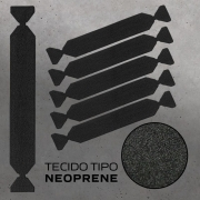 FELTRO PARA ESPATULA BUFFER BLACK EDGE DOUBLE 15CM - JOKER