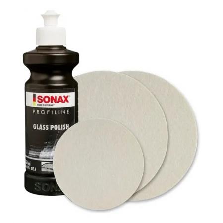 KIT PROFILINE GLASS POLISH 250ML - SONAX