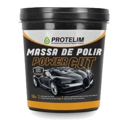 MASSA DE POLIR N° 2 POWER CUT (ALTO CORTE) 1KG - PROTELIM