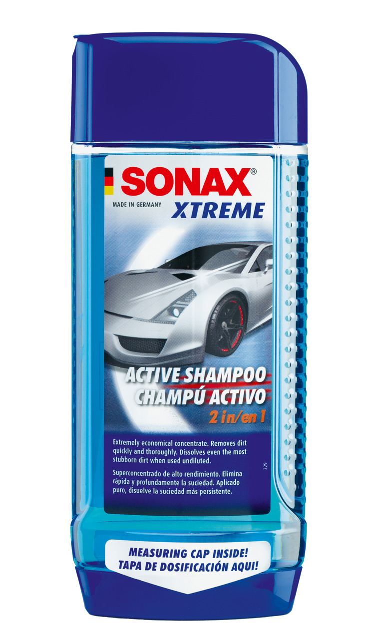 ACTIVE SHAMPOO 500ml - SONAX