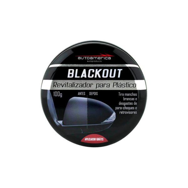 BLACKOUT REVITALIZADOR DE PLASTICO 100G - AUTOAMERICA