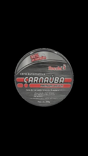 CERA  AUTOMOTIVA CARNAÚBA PREMIUM 200G - LINCOLN